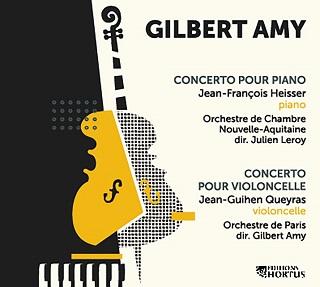 les Concerti de Gilbert Amy paraissent aux éditions discographiques HORTUS